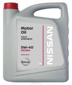 """Nissan KE900-90042 """"Motor Oil 5W-40"""""""